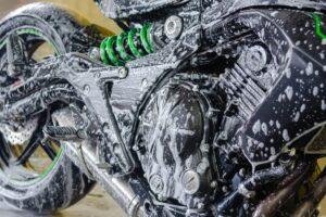 Motorrad reinigen